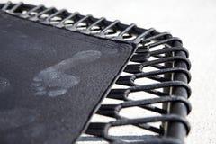 Trampolino con l'orma Immagini Stock Libere da Diritti