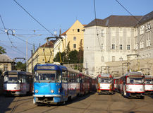 Trams Royalty Free Stock Image