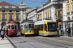 Trams Royalty Free Stock Photo