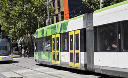 Trams in Melbourne Royalty Free Stock Photography
