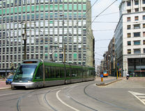 Trams on the street of Milan Royalty Free Stock Photo