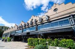 Tramsheds ist Sydney's der meiste aufregende Lebensmittelbestimmungsort, untergebracht im ehemaligen historischen Rozelle-Tram- lizenzfreie stockfotografie