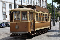 Tramspoor in Porto Royalty-vrije Stock Afbeelding