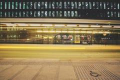 Tramspotting Fotografering för Bildbyråer