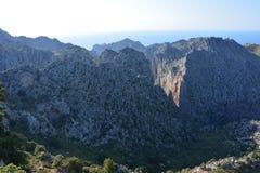 Tramuntana-Berge Stockbilder