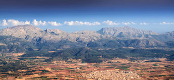 Tramuntana mountain range Royalty Free Stock Photography