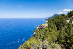 Tramuntana Mountain Range, Majorca Royalty Free Stock Photos