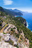 Tramuntana Mountain Range, Majorca Royalty Free Stock Image