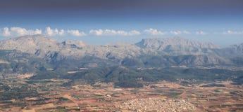 Tramuntana mountain range Stock Images