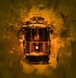 Tramvay istiklal taksim Stock Photo
