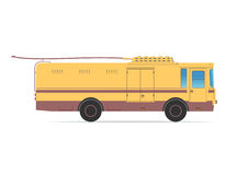 Tramwaj ciężarówka ilustracji