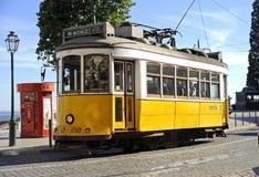 28 tramwaj Lisbon Zdjęcia Royalty Free