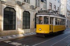 Tramwaj, Lisbon Zdjęcia Royalty Free