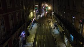 Tramwaj w Lisbon Portugalia zbiory wideo