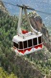 tramwaj w powietrzu Zdjęcie Stock