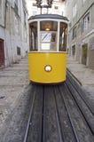 tramwajowy kolor żółty Zdjęcie Stock