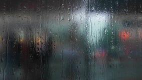 Tramwajowy okno zakończenie up zdjęcia stock