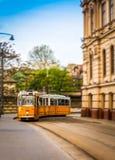 Tramwajowy przybycie Obrazy Stock