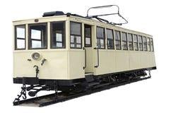 tramwajowy tło biel Zdjęcia Stock