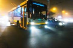 Tramwaju autobus Obrazy Royalty Free