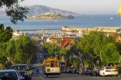 Tramwaju samochód w San Fransisco Fotografia Royalty Free