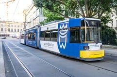 Tramway à Berlin Photo stock