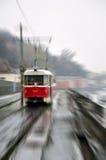 Tramway à Kiev, Ukraine image libre de droits