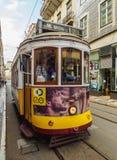 Tramway à Lisbonne Photographie stock libre de droits