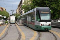Tramway à Rome Photos stock