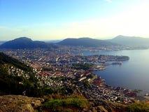 Tramway aéreo de Bergen - Ulriken Fotografia de Stock Royalty Free