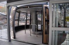 Tramway aérienne de Palm Springs en Californie image libre de droits