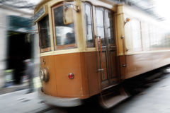 Tramway background Stock Photos