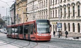 Tramway in Bratislava - Slovakia Royalty Free Stock Photography