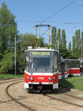 Tramway in Brno Royalty Free Stock Image
