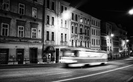 Tramway in Brno - Czechrepublic Royalty Free Stock Image