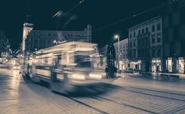 Tramway in Brno - Czechrepublic. Tramway in city, Brno - Czech republic stock photos