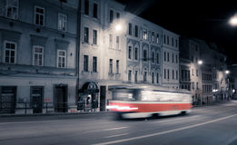 Tramway in Brno - Czechrepublic Royalty Free Stock Photography