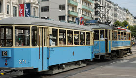 Tramway in the city of Goteborg Stock Photography
