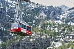 Tramway d'Airial de la porte de l'enfer Image stock