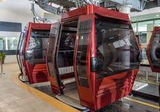 Tramway d'Airial de la porte de l'enfer Photos libres de droits