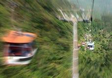 Tramway d'Airial de la porte de l'enfer Photo stock