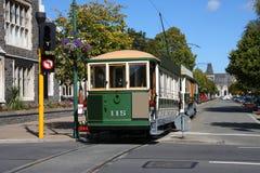 Tramway de Christchurch photographie stock libre de droits
