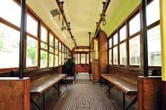 Tramway de cru Images stock