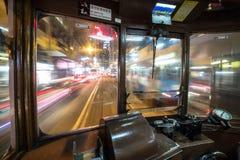 Tramway de Hong Kong Photo libre de droits