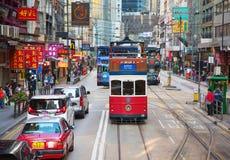 Tramway de Hong Kong image stock