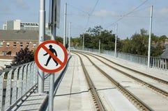 Tramway de Laus Images libres de droits