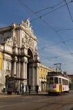 Tramway de Lisbonne Images libres de droits