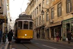 Tramway de Lisbonne Photographie stock libre de droits