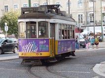 Tramway de Lisbonne Photo stock
