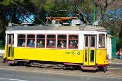 Tramway de Lisbonne Photographie stock